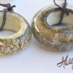 Ivory Big Hole Beads - Sold Separately